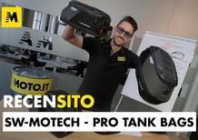 Pro Tank Bags SW Motech. Recensione borse da serbatoio