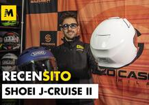 Shoei J-Cruise II. Casco jet in fibra.
