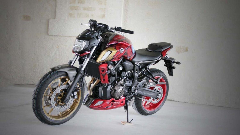 Special: Yamaha MT-07 Captain America e Iron Man