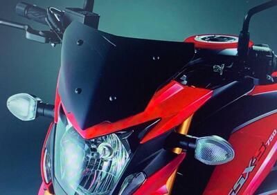 CUPOLINO NERO TRASPARENTE GSX-S 750 YUGEN Suzuki - Annuncio 8082798