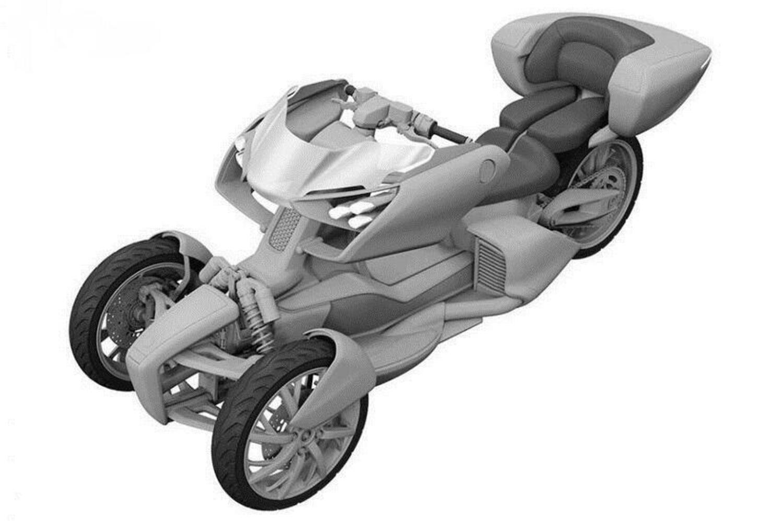 Yamaha, un nuovo tre ruote ibrido dal concept MW-Vision