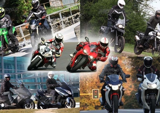 Le comparative di Moto.it 2012