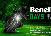 Benelli Days: il 10 e 11 luglio in prova la gamma moto, dal Trentino alla Sicilia