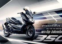 Nuovo Honda Forza 350 in Thailandia [VIDEO]