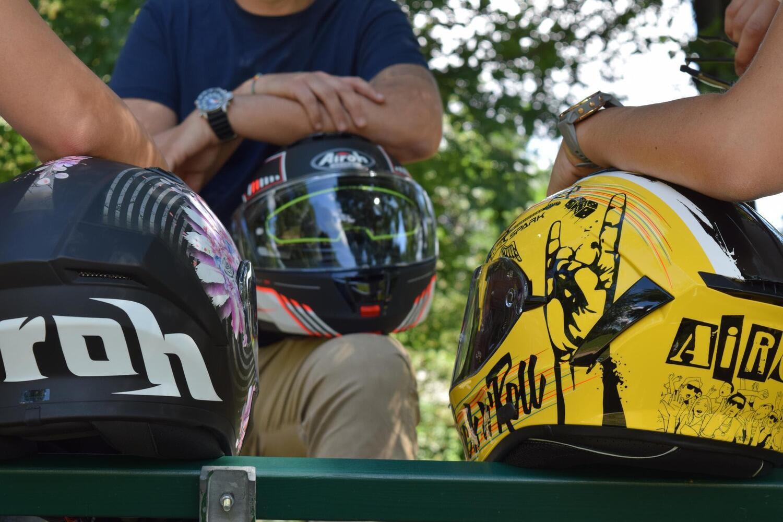 Airoh: come pulire correttamente la visiera del casco