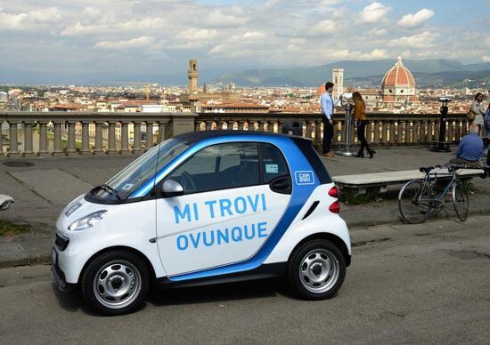 car2go aiuta Firenze: gratis per i coinvolti nel crollo del Lungarno