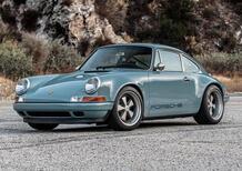 Porsche 911 Singer: bellissima (anche) in Beziers e Laverda Blue