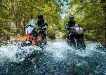 """KTM e Pirelli: """"Ride Out Experience"""", avventura per le maxienduro"""