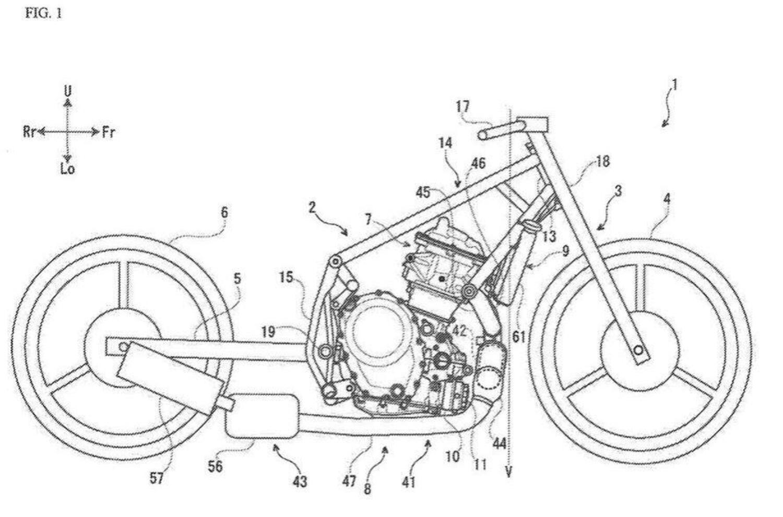 Suzuki: il brevetto di un nuovo motore bicilindrico parallelo