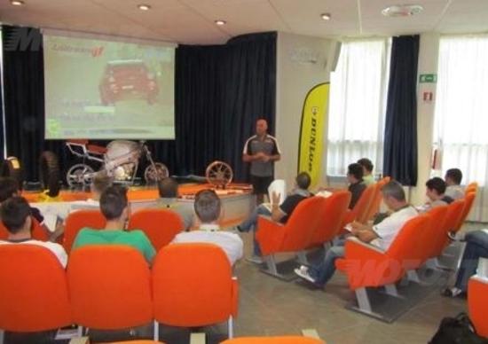 Dunlop e Andreani Group insieme per la formazione moto