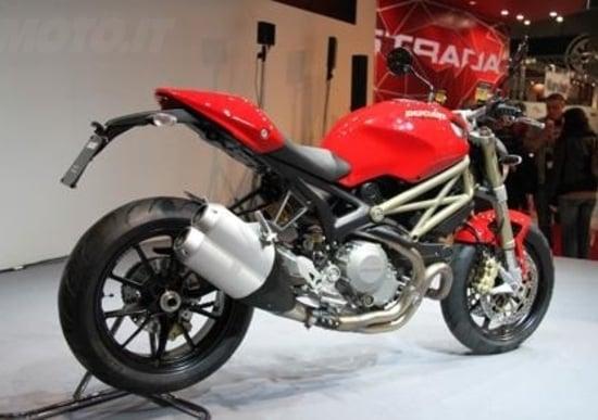Intermot 2012: Ducati Monster 20° anniversario