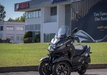 Yamaha Tricity 300 scooter ufficiale del Giro-E