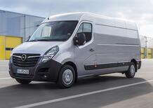 Opel Movano elettrico: debutterà nel 2021