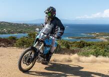 Yamaha Ténéré Rally 700: TEST esclusivo su un'isola della Sardegna
