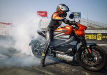 Harley-Davidson LiveWire batte il record di velocità [VIDEO]