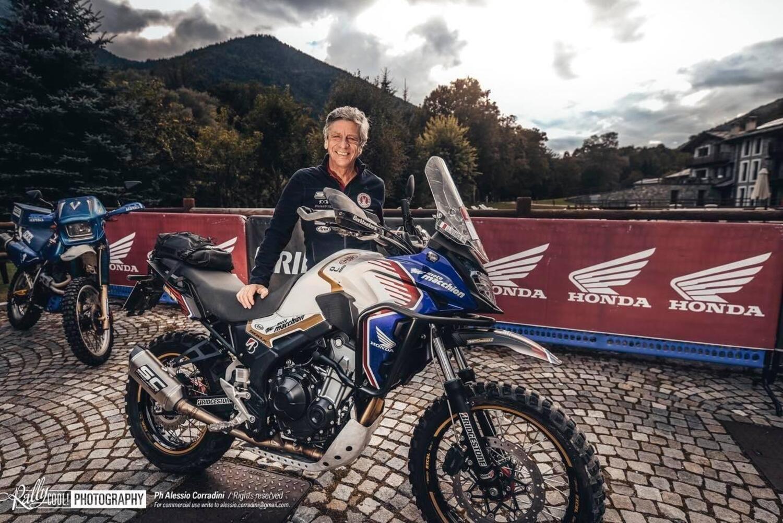 Renato Zocchi e la Honda CB500X vincono la ALP TT International