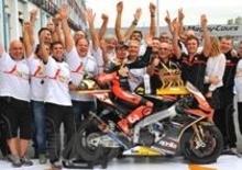 Max Biaggi e Aprilia campioni del mondo Superbike 2012!