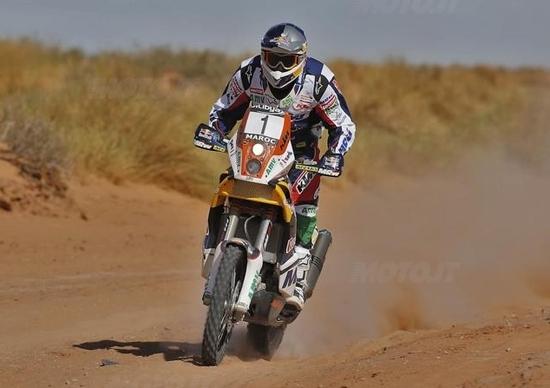 Rally del Marocco. Rodriguez, Coma e Despres chiudono in testa la prima tappa