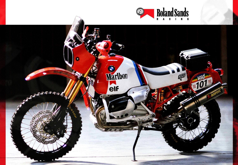 BMW R 1200GS Dakar special Roland Sands