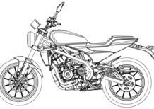 Harley-Davidson 338 R. In rete i disegni della bicilindrica per i mercati asiatici