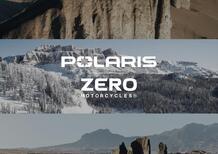 Partnership tra Polaris e Zero Motorcycles per lo sviluppo di veicoli elettrici