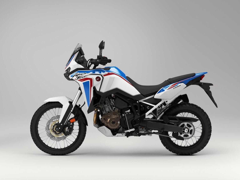 Honda Africa Twin 2021, arriva il tricolore anche sulla versione base [GALLERY]