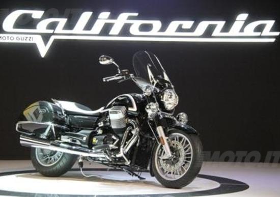 Nuova Moto Guzzi California 1400 a EICMA 2012