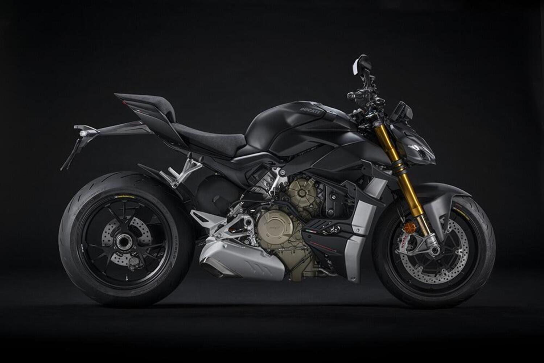 Ducati Streetfighter V4 m.y. 2021: Euro 5, e c'è la Dark Stealth