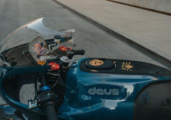 La prima moto elettrica di Deus ex Machina