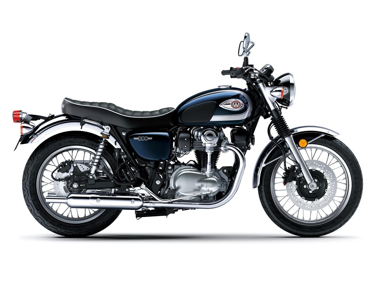 Kawasaki W800 2021. Nuovo colore per un anniversario