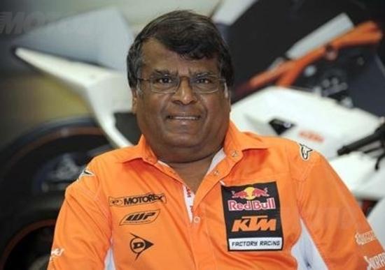 Selvaraj Narayana (KTM): Lavorare, guadagnare e vivere non è passione, passione è inventare