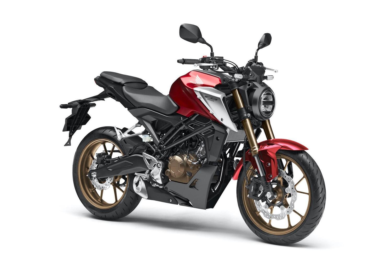 Honda CB125R 2021. Nuovo motore e forcella Big Piston!