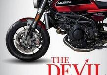 Motofestival, le novità: Moto Morini Milano 1200- The Devil Rides Morini