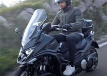 Kymco, il maxi scooter tre ruote CV3 è in arrivo [Video]