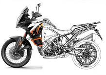 KTM 1290 Super Adventure S e R 2021: serbatoio basso confermato dal brevetto