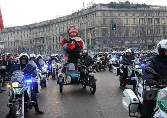 Befana benefica 2013 a Milano