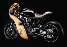 Hommage, una Yamaha XSR in legno!