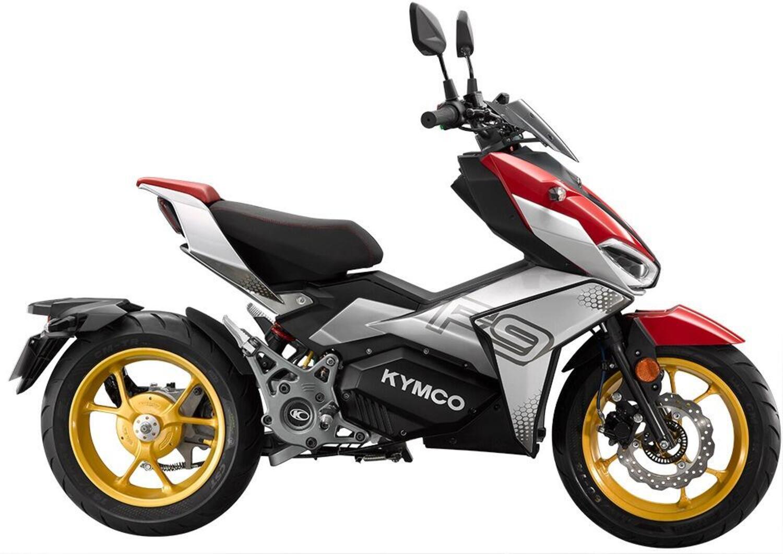 Kymco F9. Scooter elettrico da 110 km/h che si carica in 2 ore