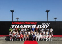 Honda Racing Thanks Day: streaming 19-20 dicembre