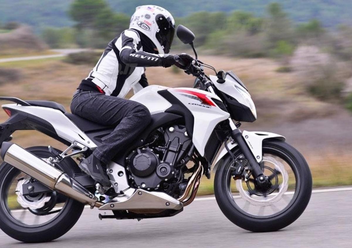 Manubrio superbike alluminio honda cbf 500// a 500cc 2006