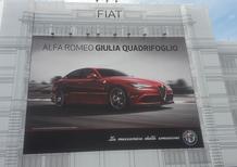 E sul Lingotto spunta l'Alfa Giulia...