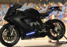 Una MV Agusta F3 675 in stile Batman per Justin Bieber
