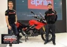 Aprilia porta al debutto a Motodays la Caponord 1200 e la RSV 4 ABS