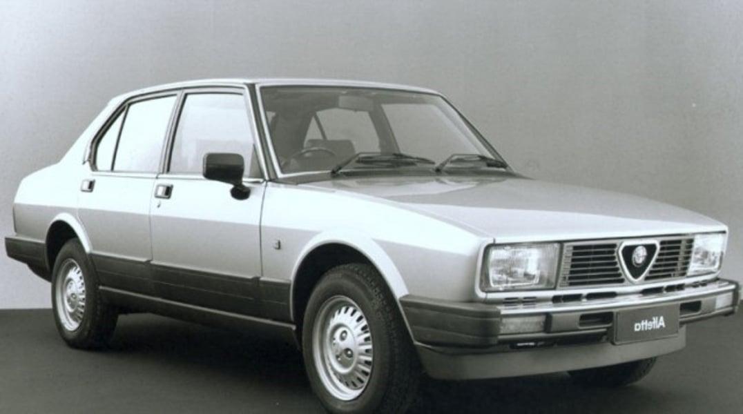Alfa Romeo Alfetta (1975-85)