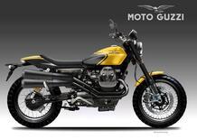 Moto Guzzi V9 Street Trax. Il concept di Bezzi