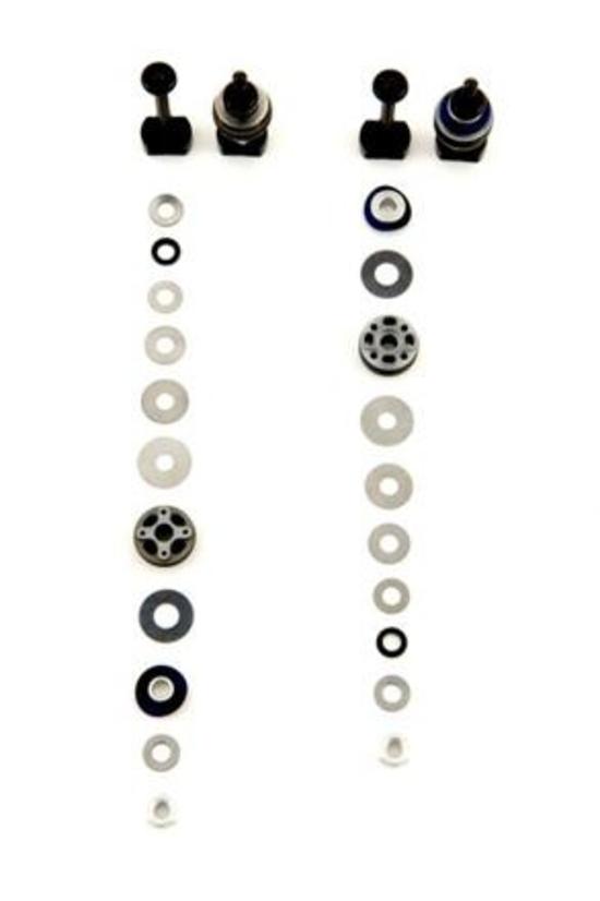 Massimo Clarke: Ammortizzatori. Struttura e caratteristiche