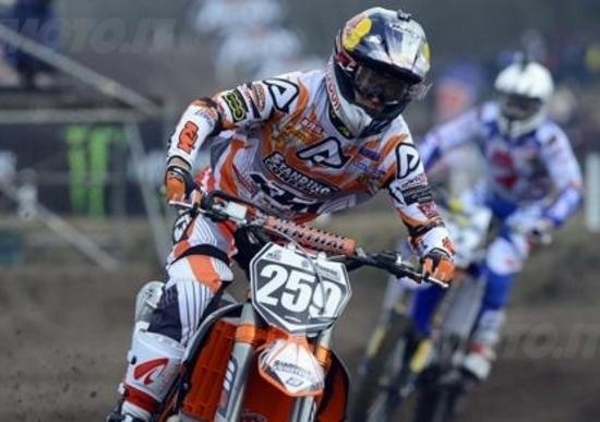Motocross, GP d'Olanda. Cairoli e Coldenhoff si aggiudicano le qualifiche