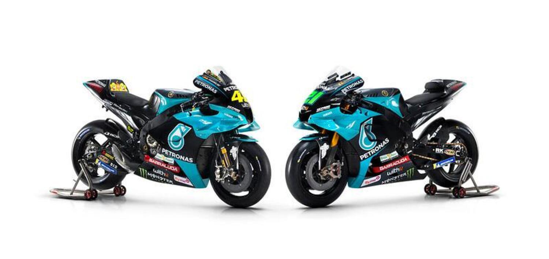 MotoGP. Tutte le foto della Yamaha M1 Petronas SRT di Valentino Rossi [GALLERY]