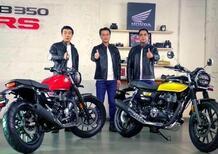 Le Honda CB 350 H'ness e CB 350 RS potrebbero arrivare in Europa?