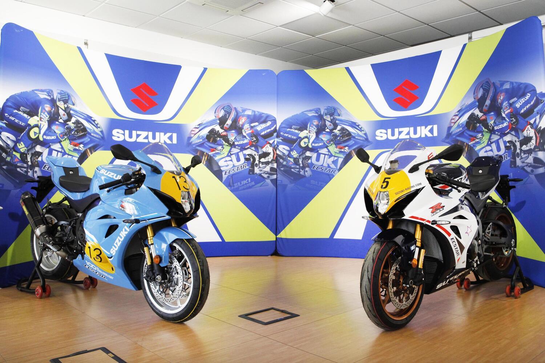 Suzuki GSX-R Legend Edition, due esemplari per Lucchinelli e Uncini